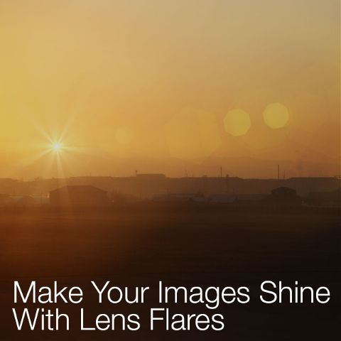 how to edit a photo using lens flare