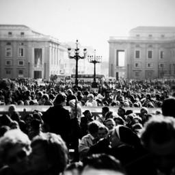 blackandwhite crowds rome photography