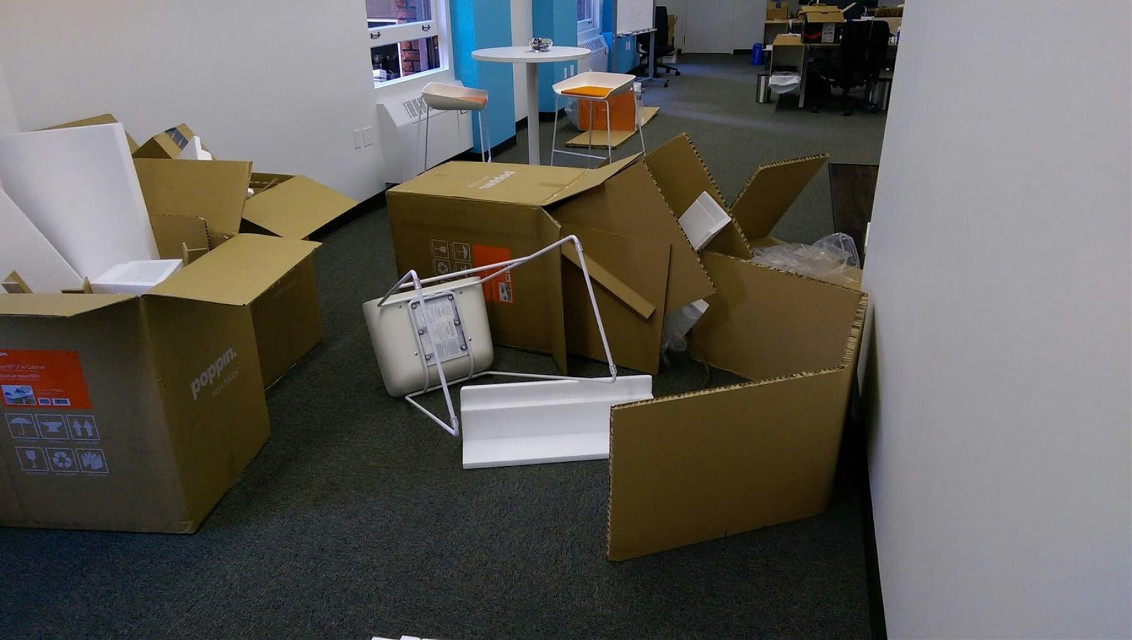 PicsArt's San Francisco office has been trashed overnight by unknown vandals. Full story here: www.ow.ly/L5c0R
