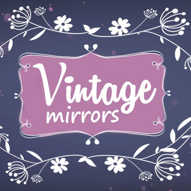 vintage mirrors frames package