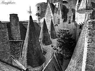 black hdr photography castle architecture