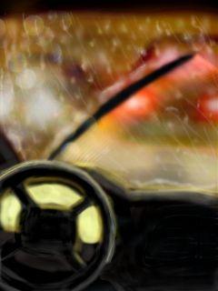 pencilart rain cars dcrainyday