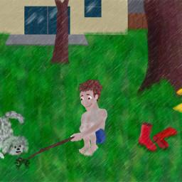 dcrainyday childhood dog bestfriends bff