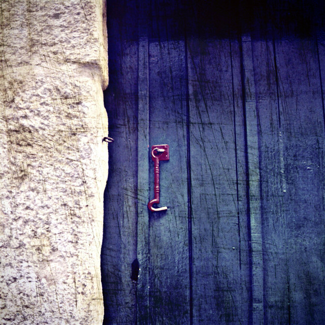#door #blue #vintage  #retro  #minimalist #oldphoto