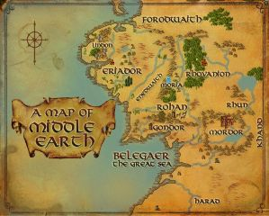 1000 awesome arda images on picsart arda maps middle earth gumiabroncs Gallery