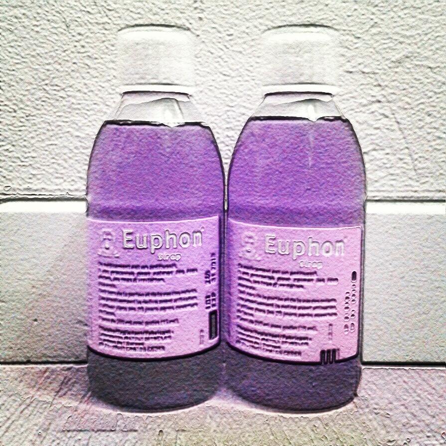 lean euphon codeine purple drank...