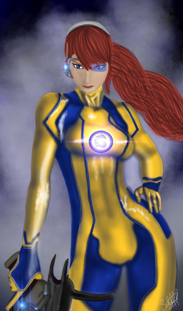 She is SIGMA...  firts entry for #dcsuperherologo #drawing #art #digitaldrawing #logo #superhero #supergirl  #colorful  #fantasy