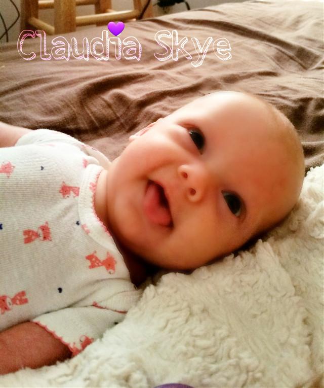 #nahnah #babygirl #allsmiles #happy #beautiful  #love   #pictuteoftheday  #twin