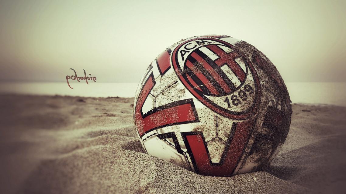 #Milan #acmilan #beach #sand #summer
