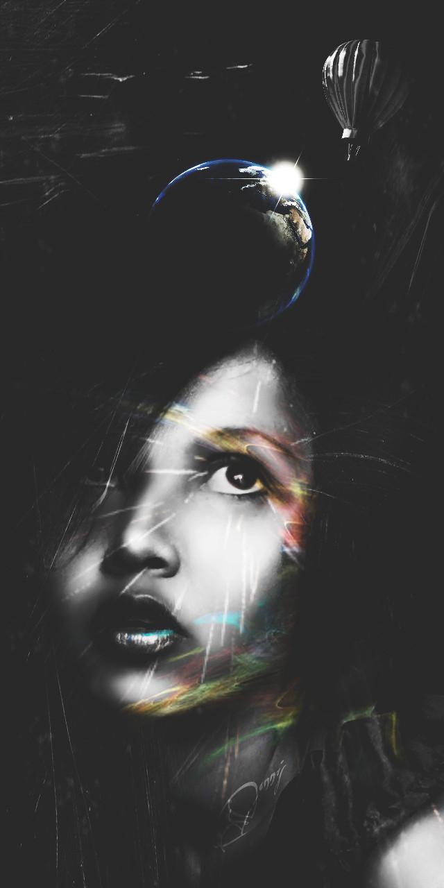 #Wapdramaeffect  #blackandwhite #artisticselfie #creativeselfie #colorsplash #drama-effect