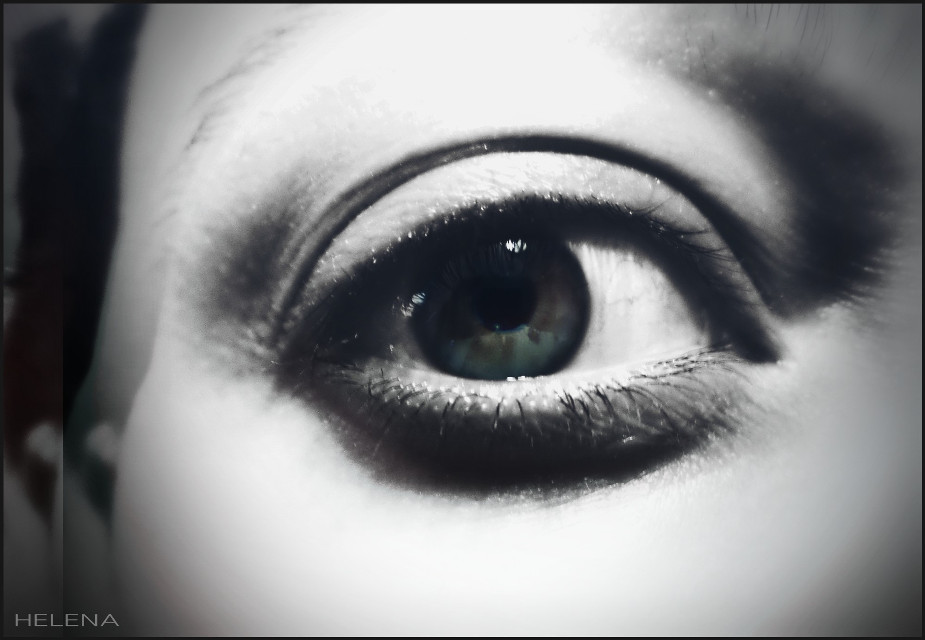 icancu #colorsplash #eye #emotions #retro #popart #artisticselfie #me