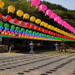 colorful photography travel repeating