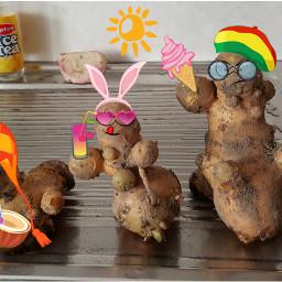 clipart potatoes weird funny food