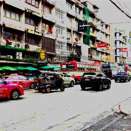 bangkok tuktuk street