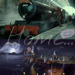 harrypotter hogwartsexpress hogwarts september1st backhome