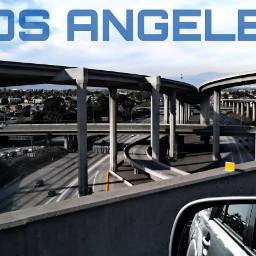 la freeway losangeles traffic