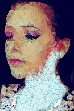 polygonart polygon geometry crisp colorful