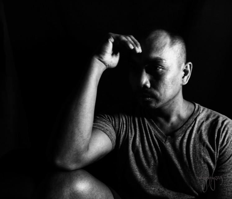 #blackandwhite  #selfportrait  #photography