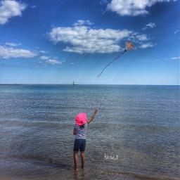 kite cheap fun daughter lakemichigan
