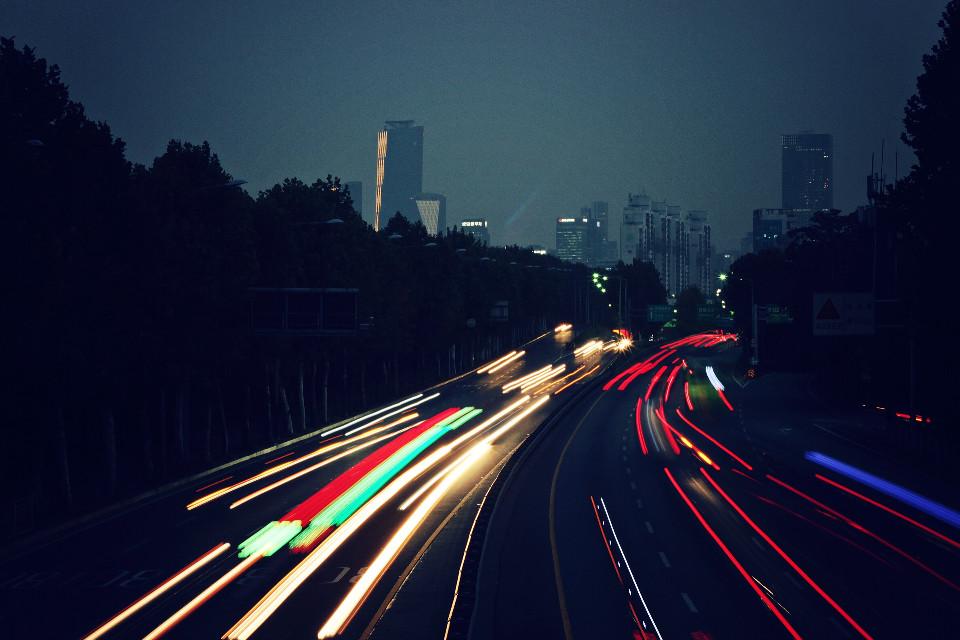 #lighttrails #right #night #trip #travel #lighttrail #slowshutter