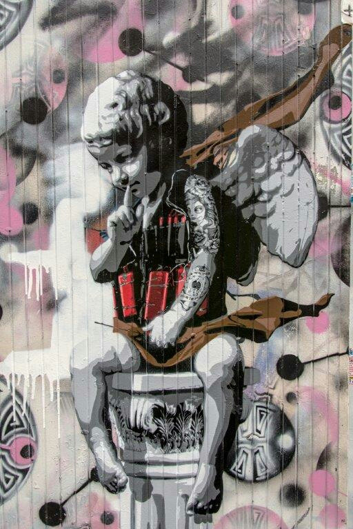 #streetart by #dsart #BrickLane #London