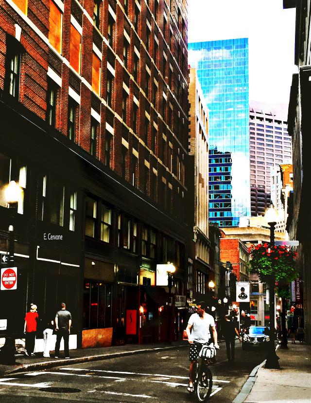 """ downtown Boston ""    #urban  #city #redit for  #dailyinspiration"