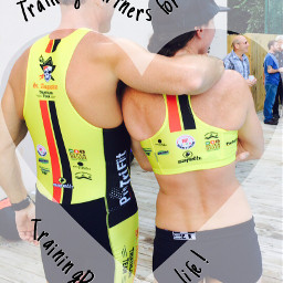 triathletelove trainingpartners truelovealways trulyblessed ironcouple