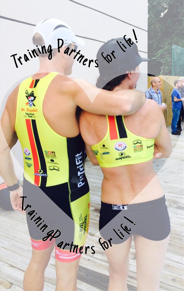 #triathletelove #trainingpartners #truelovealways #trulyblessed #ironcouple #ironman #ironmancozumel @mel_trainer