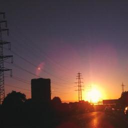 ruhrpott oberhausen travel sunsetsilhouette