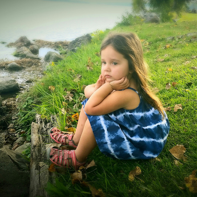 #nature child thought