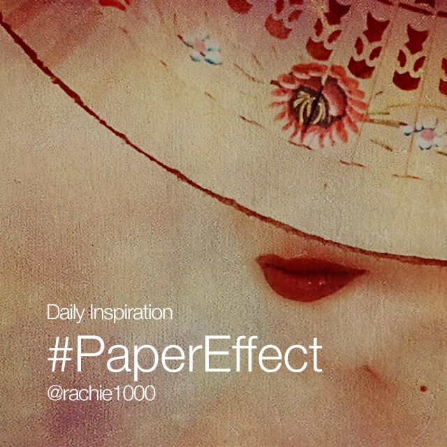 Daily inspiration #PaperEffect