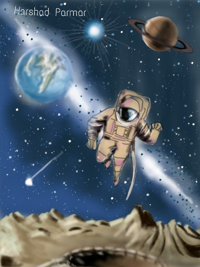 #dcouterspace#astronaut#planets#star..hope u all like it, thanx in advance for ur likes,votes or reposts